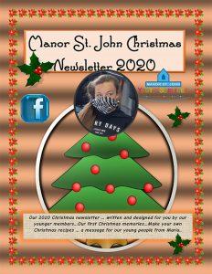 MSJ -YS Junior club Xmas newsletter - 2020