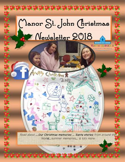 Manor St John Newsletter Christmas 2018