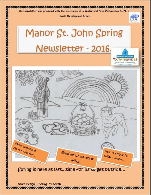 Manor St John Newsletter Spring 2016