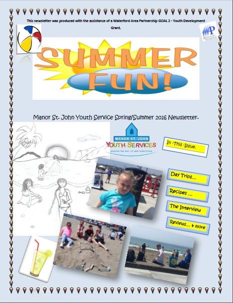 Manor St John Spring Summer Newsletter 2016